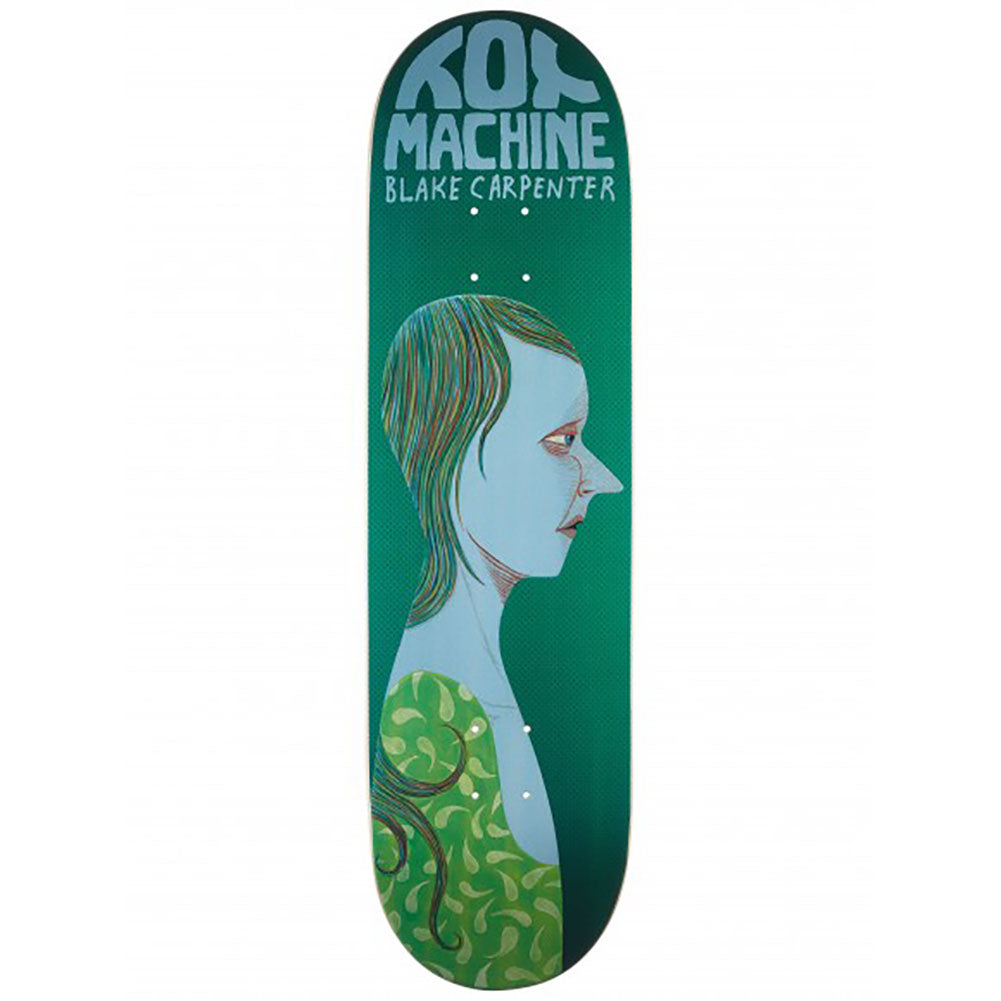 Toy Machine Blake Carpenter Face Skateboard Deck 8.38
