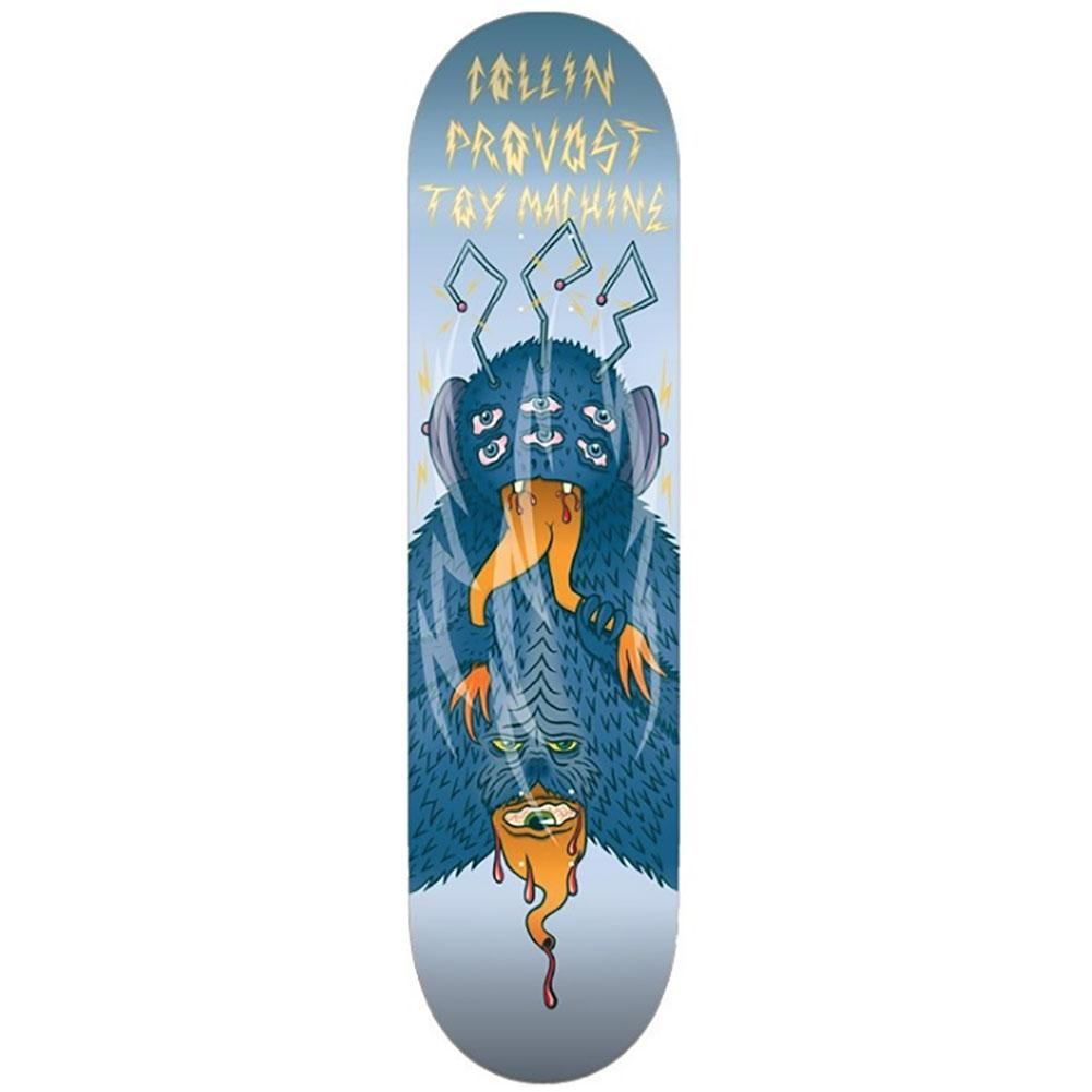 Toy Machine Collin Provost Cannibal Skateboard Deck 8.38