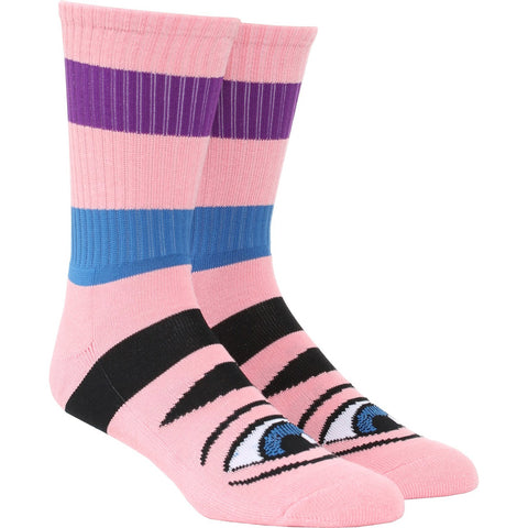 Toy Machine Sect Eye Big Stripe Socks pure board shop