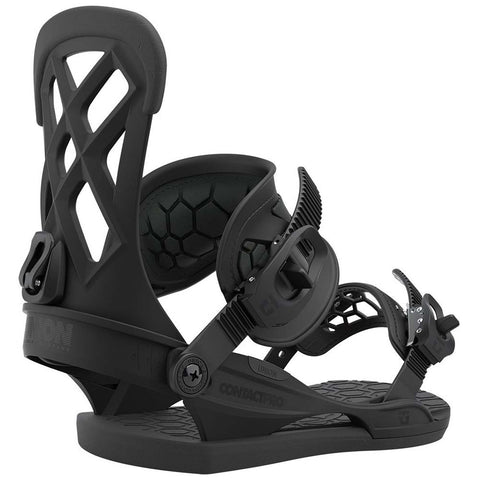 Union Contact Pro Mens Snowboard Bindings 2021 Black Pure Board Shop