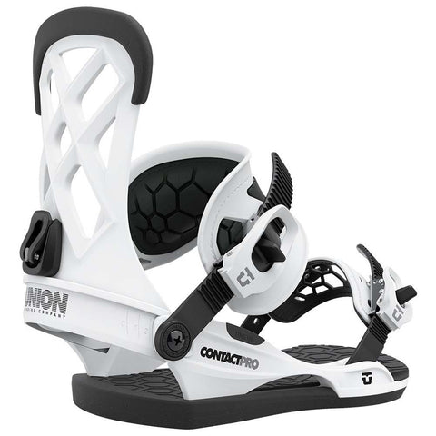 Union Contact Pro Mens Snowboard Bindings 2021 White Pure Board Shop
