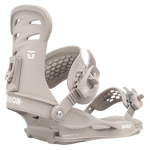 Union Rosa Womens Snowboard Binding 2021 Warm Grey