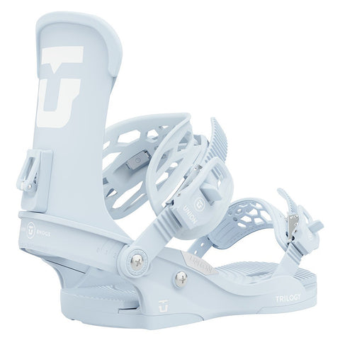 Union Trilogy Womens Snowboard Bindings 2021 Powder Blue Pure Board Shop