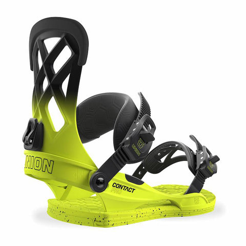 Union Contact Pro Snowboard Binding 2018 Volt Yellow pure board shop