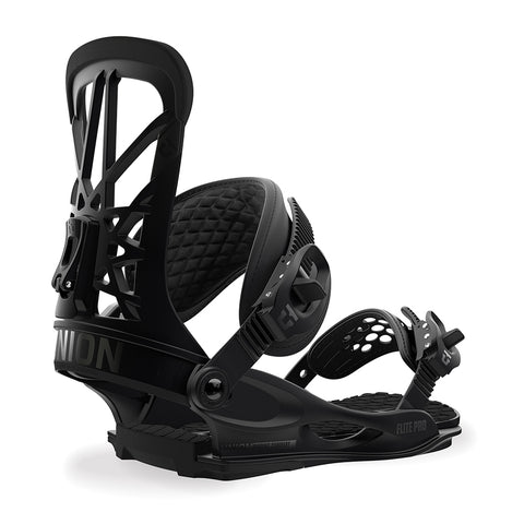 Union Flite Pro Mens Snowboard Binding 2019 Black Union Binding Co 2019 pure board shop