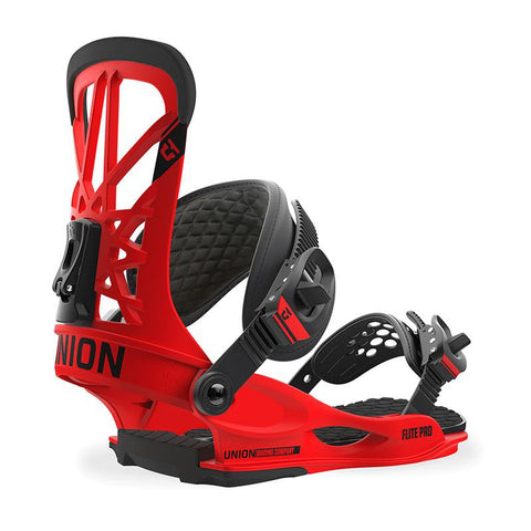 Union Flite Pro Snowboard Binding 2018 Red pure board shop
