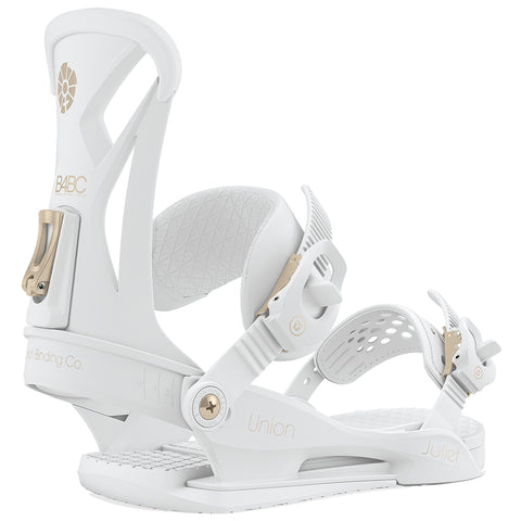 Union Juliet Womens Snowboard Bindings 2002 B4BC White Gold pure board shop