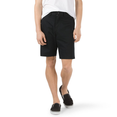 Vans Authentic Stretch Chino Shorts Black VN0A2ZY9BLK pure board shop
