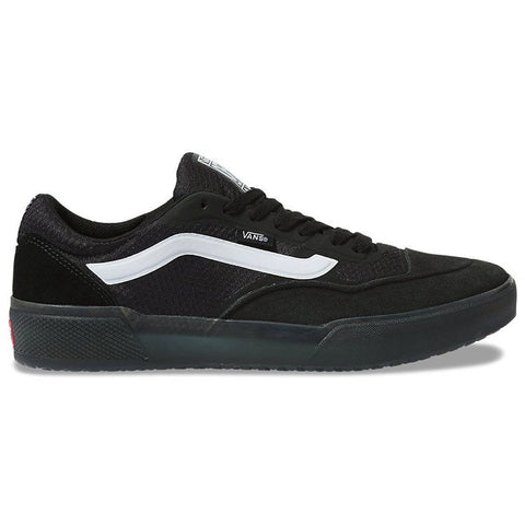 Vans Ave Pro Skate Shoes Black White Pure Board Shop