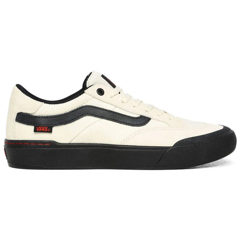 Vans Berle Pro Skate Shoes Antique White Black WKX0QH Pure Board Shop