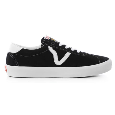Vans Epoch Sport Pro Skate Shoes Black White pure board shop