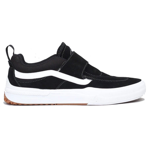 Vans Kyle Pro 2 Slip On Skate Shoes Black White UW3Y28 pure board shop