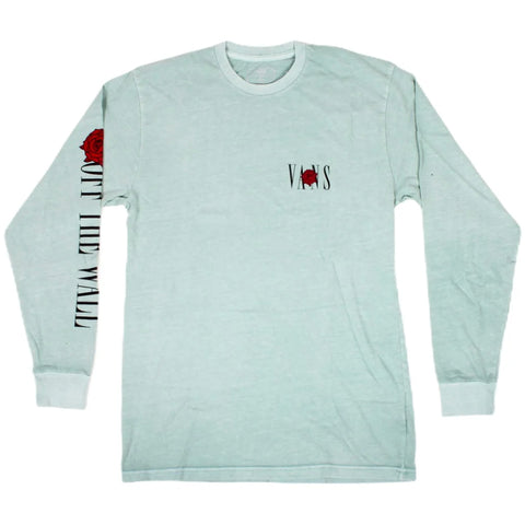 Vans Kyle Walker Rose Long Sleeve T-Shirt Blue Pure Board SHop