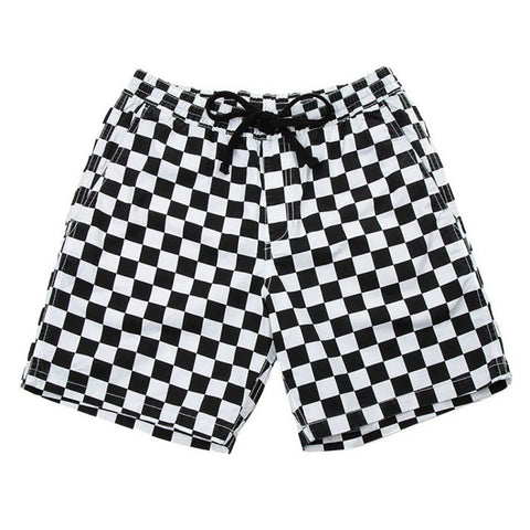 Vans Range  18 Chino Shorts Checkerboard VN0A3W4V705 pure board shop