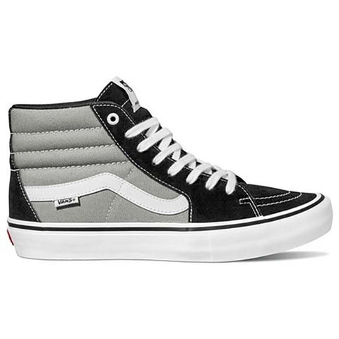Vans Sk8-Hi Pro Skate Shoes Nation Black Silve