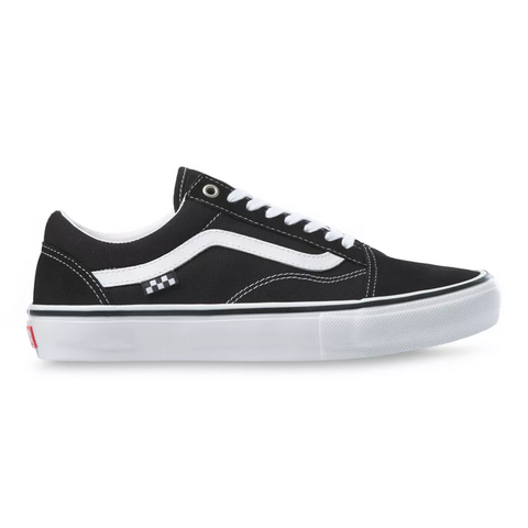 Vans Skate Old Skool Skate Shoes Black White Pure Board Shop