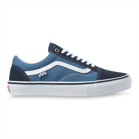 Vans Skate Old Skool Skate Shoes Navy White Pure Board Shop