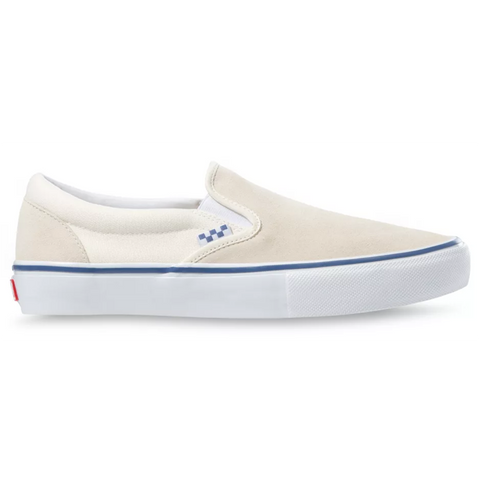 Vans Skate Slip-On Skate Shoes Off White Pure Board Shop