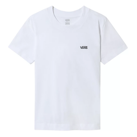 Vans Womens Junior V Boxy T Shirt White VN0A4MFLWHT pure board shop