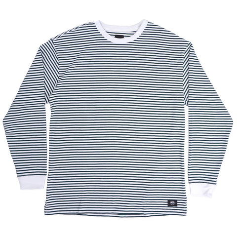 Vans Aubrey Long Sleeve Knit T Shirt White VN0A456LWHT Vans Fall 2019 pure board shop