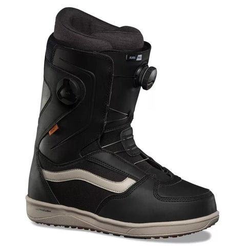 Vans Aura Pro Double Boa Mens Snowboard Boot 2020 Black Cashmere TFGT0V Vans Snow pure board shop