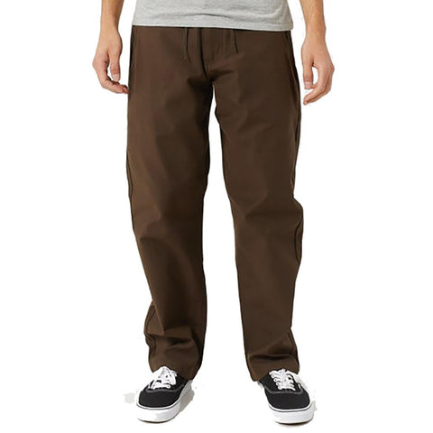 Vans Authentic Chino Glide Pro Pants Brown pure board shop