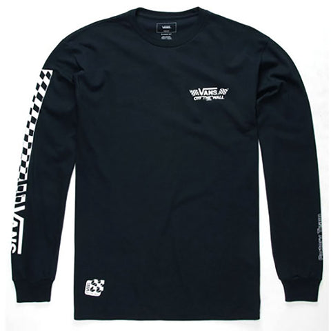 Vans Crossed Sticks Long Sleeve T-Shirt Navy Vans Fall 2018 pure board shop