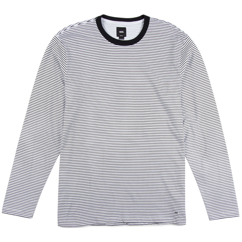 e2467cdc2afbf0 Vans Engineered Long Sleeve Knit T-Shirt Black White