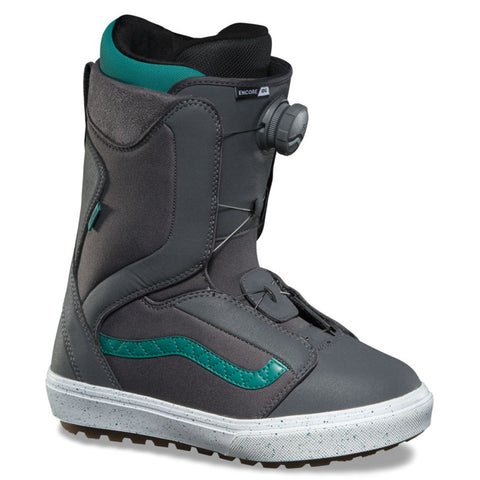 Vans Encore OG Womens Boa Snowboard Boot 2020 VN0A3TFPT13 Grey Tidepool Vans Snow 2020 pure board shop