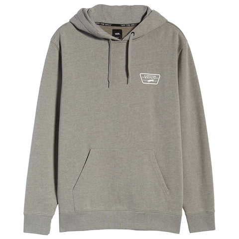 Vans Full Patch Hoodie Cement Heather VN0A45CJ02F Vans Fall 2019 Pure Board Shop