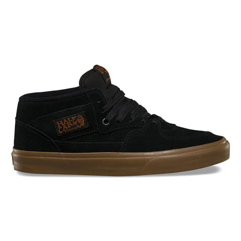 Vans Half Cab Skate Shoes Gum Black Black VN0a348EMVP pure board shop