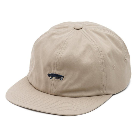Vans Salton II 6 Panel Jocket Hat khaki pure board shop