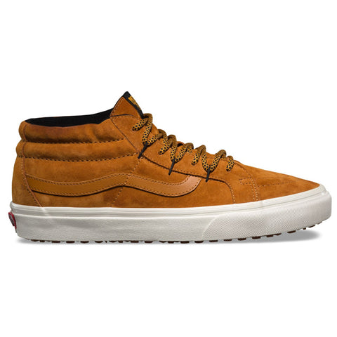 Vans Sk8 Mid ReIssue Chillie MTE Shoes Sudan Brown Marshmallow pure board shop