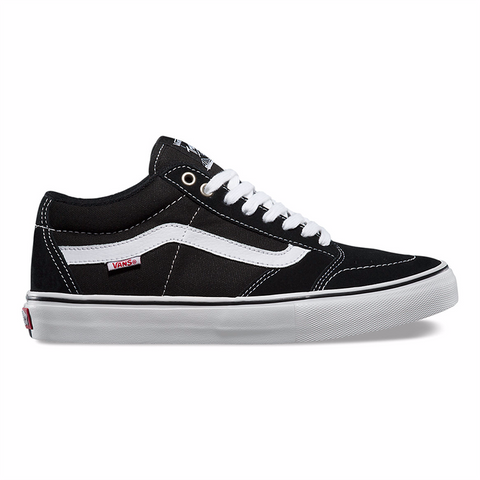 Vans TNT SG Pro Skate Shoes Black/White/Black