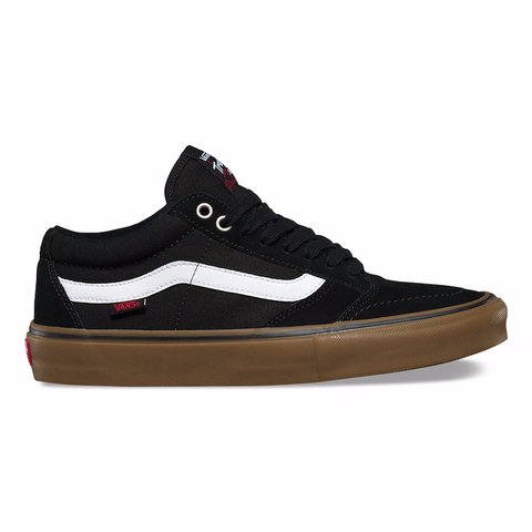Vans TNT SG Pro Skate Shoes Black/White/Gum