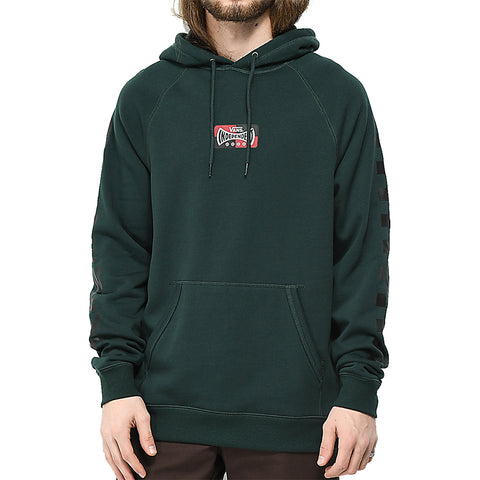 Vans X Independent Skate Co Versa Pullover Hoodie Darkest Spruce VN0A3HPZRP4 Vans Fall 2018 pure board shop