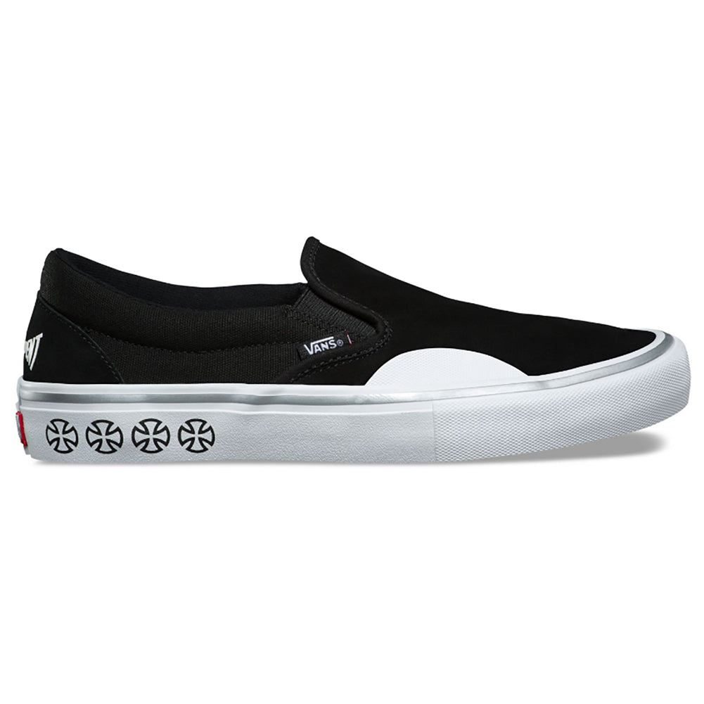 Vans X Independent Slip On Pro Skate Shoes