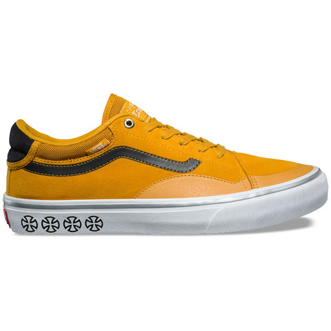 Vans X Independent Truck Co TNT Advanced Prototype Skate Shoes Sunflower VN0A3TJXU2F Vans Fall 2018 pure board shop