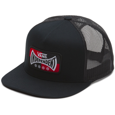 Vans X Independent Truck Co Trucker Hat Black VN0A3HMGBLK Vans Fall 2018 pure board shop