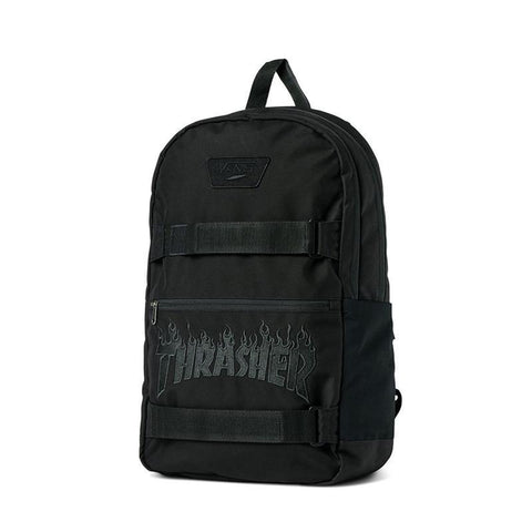 Vans X Thrasher Authentic III Skate Backpack Black pure board shop
