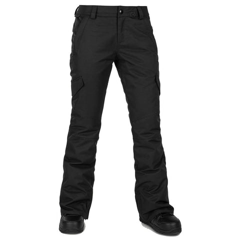 Volcom Bridger Insulated Womens Snowboard Pant Black H1252001BLK Pure Board Shop