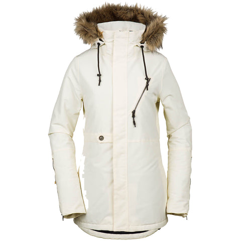Volcom Fawn Insulated Womens Snowboard Jacket 2019 Bone H0451905BNE pure board shop