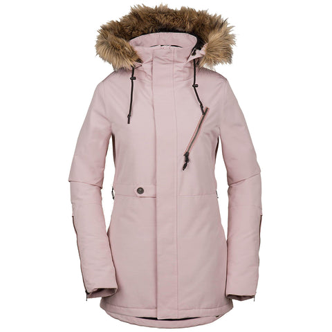 Volcom Fawn Insulated Womens Snowboard Jacket 2019 Rosewood H0451905ROS pure board shop
