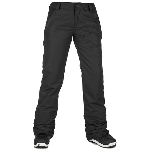Volcom Frochickie Insulated Womens Snowboard Pants Black aH1251903 volcom snow 2019 pure board shop