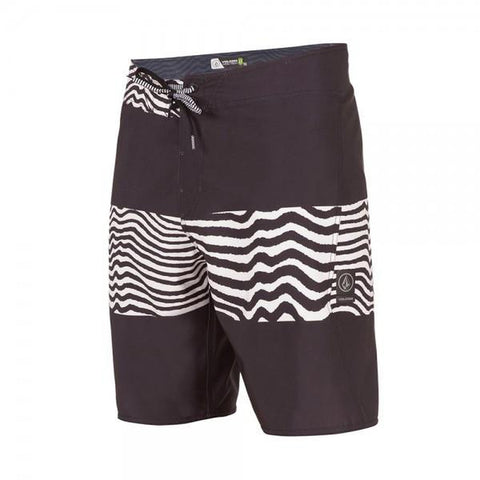 "Volcom Macaw Mod 20"" Mens Boardshort black white pure board shop"