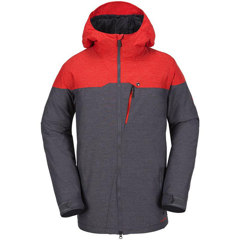 Volcom Prospect Insulated Jacket 2018 Fire Red pure board shop