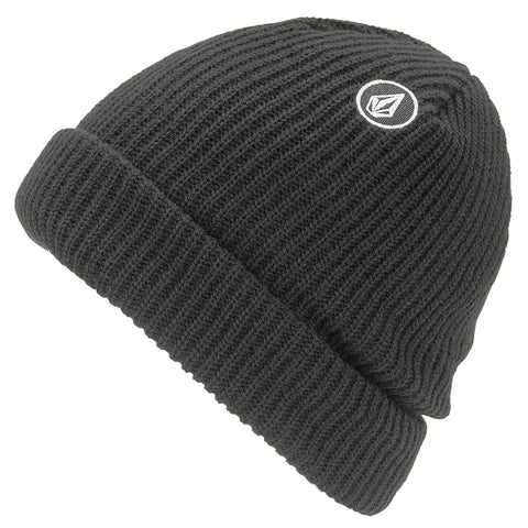 Volcom Sweep Lined Beanie Black Pure Board Shop