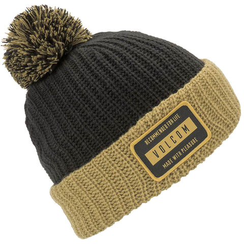 Volcom TTT Lined Beanie Resin Gold pure board shop