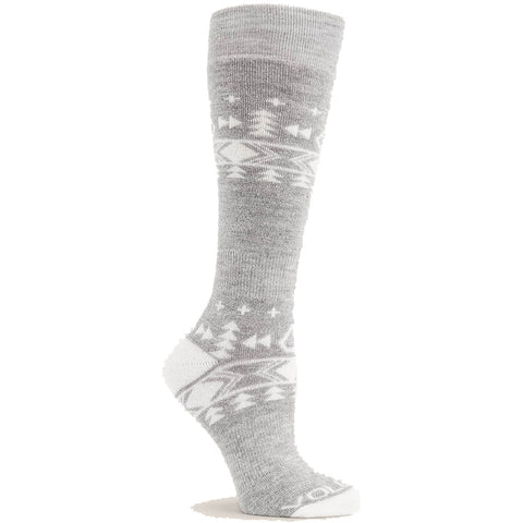 Volcom Tundra Womens Snowboard Tech Socks Heather Grey pure board shop