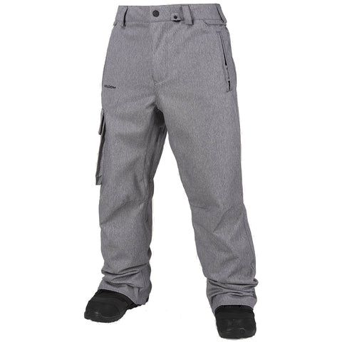 Volcom Ventral Mens Snowboard Pants Heather Grey G1351813HGR volcom snow 2019 pure board shop